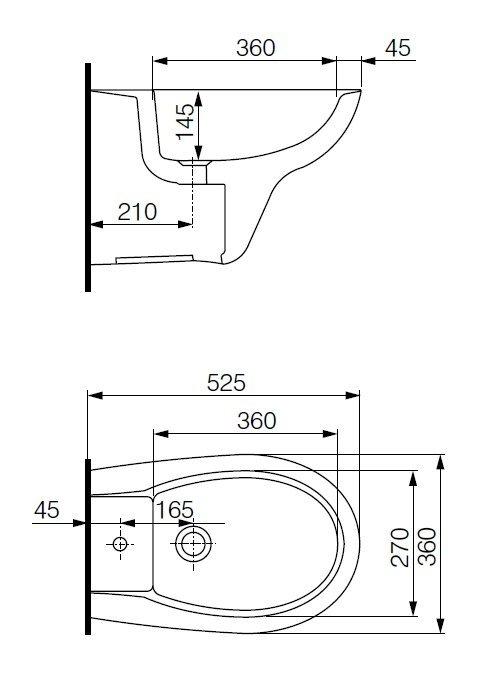 Подвесной унитаз Cersanit PRESIDENT soft close (микролифт)