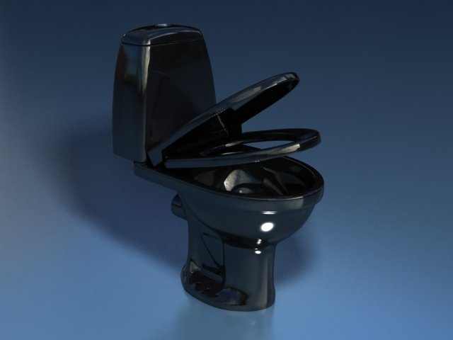Унитаз-компакт STYLE (чёрный 45°и 90°)