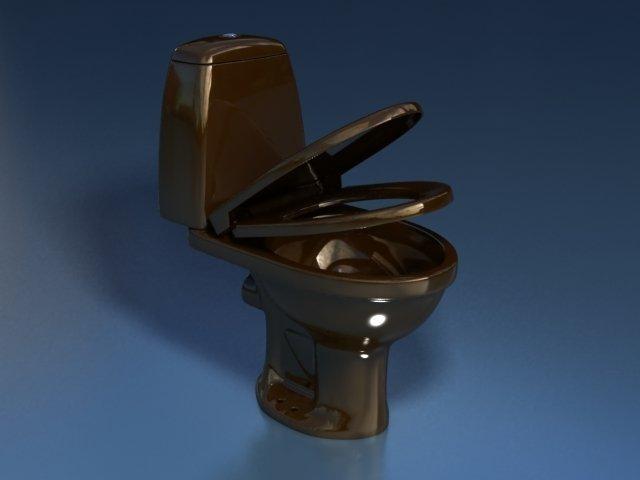 Унитаз-компакт STYLE (коричневый 45°и 90°)