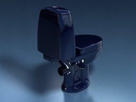 Унитаз-компакт STYLE (синий 45°и 90°)
