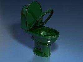 Унитаз-компакт STYLE (зеленый 45°и 90°)